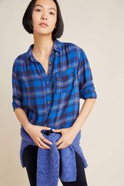 Isadora Button-Back Tunic at Anthropologie