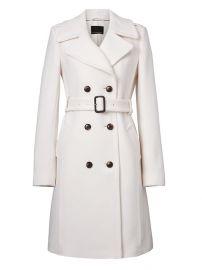 Italian Melton Wool-blend coat by Banana Republic at Banana Republic