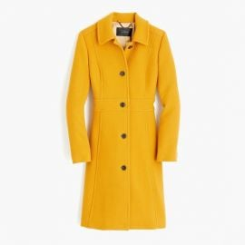 Italian double-cloth wool lady day coat at J. Crew