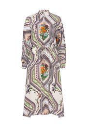 Ivory Homage Printed Dress at Rent the Runway
