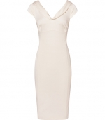 Ivory cowl neck dress by Reiss at Reiss