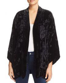 Ivy Reversible Velvet Kimono at Bloomingdales