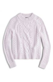 J Crew Azra Cable Knit Pullover  Regular  amp  Plus Size    Nordstrom at Nordstrom