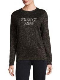 J BRAND - BELLA FREUD x J BRAND Pretty Baby Wool Lurex Sweater at Saks Fifth Avenue