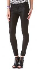 J Brand 620 Super Skinny Lacquered Jeans at Shopbop