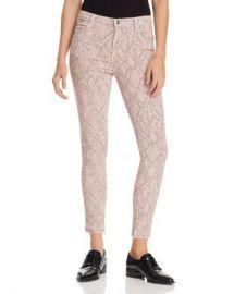 J Brand Alana Ankle Skinny Printed Jeans in Adder Women - Bloomingdale s at Bloomingdales