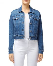 J Brand Harlow Shrunken Denim Jacket at Neiman Marcus