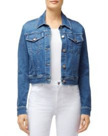 J Brand Harlow Shrunken Denim Jacket in Rapture Women - Bloomingdale s at Bloomingdales
