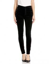 J Brand Jeans Women\'s Natasha Sky High Skinny Velvet Pant at Amazon