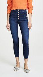 J Brand Natasha Sky High Crop Skinny Jeans at Shopbop