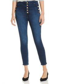 J Brand Natasha Sky High Crop Skinny Jeans in Untamed Women - Bloomingdale s at Bloomingdales