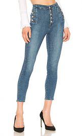J Brand Natasha Sky High Skinny Cropped Jean in Lovesick from Revolve com at Revolve