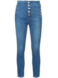 J Brand Natasha Sky High Skinny Jeans at Farfetch