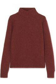 J Crew - Isabel knitted turtleneck sweater at Net A Porter