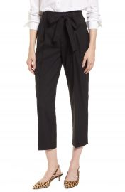 J Crew Collection Tie Waist Pants at Nordstrom