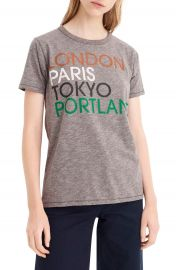 J Crew London  Paris  Tokyo  Portland Tee   Nordstrom at Nordstrom