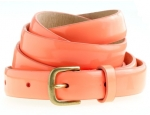 J Crew Patent skinny belt at J. Crew
