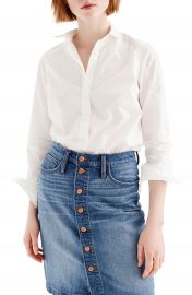 J Crew Slim Stretch Perfect Shirt  Regular  amp  Petite    Nordstrom at Nordstrom