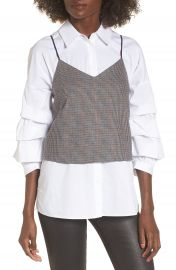 J O A  Plaid Camisole at Nordstrom