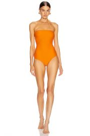 JACQUEMUS Alassio Swimsuit in Orange   FWRD at Forward