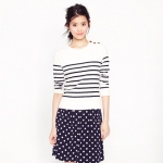 JCrew striped sweater from New Girl at J. Crew