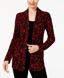 JM Collection Layered-Look Printed Top at Macys