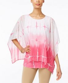JM Collection Poncho at Macys