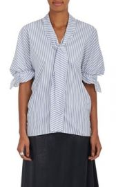 JW Anderson striped blouse at Barneys