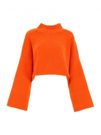 JW Anderson Orange Sweater at Italist