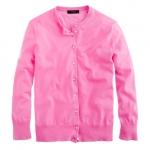 Jackie cardigan in pink at Jcrew at J. Crew