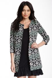 Jacquard Aztec Print Jacket at Nordstrom Rack