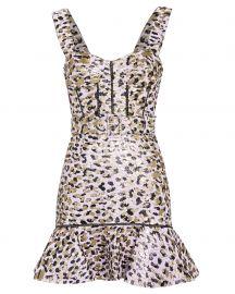 Jacquard Bustier Dress at Intermix