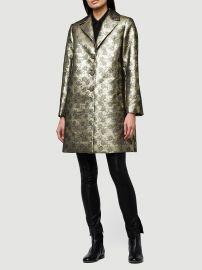 Jacquard Coat at Frame