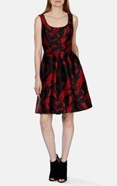 Jacquard Full Skirted Dress at Karen Millen