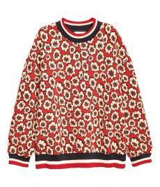 Jacquard Patterned Sweatshirt at H&M