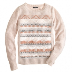 Jacquard Stitch Fair Isle Sweater at J. Crew