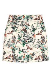 Jacquard Weave Skirt at H&M
