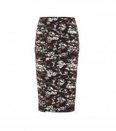 Jacquard pencil skirt at Mytheresa
