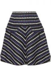 Jacquard wool-blend skirt at The Outnet