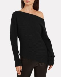 Jacqueline Off-The-Shoulder Sweater at Intermix
