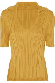 Jacquemus   Marinheiro ribbed cotton sweater at Net A Porter