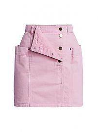 Jacquemus - Nimes Denim Mini Skirt at Saks Fifth Avenue