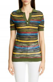 Jacquemus Ray Stripe Polo   Nordstrom at Nordstrom