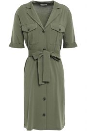Jadallah Belted Utility Shirtdress by Joie at The Outnet
