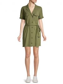 Jadallah Belted Utility Shirtdress by Joie at Saks Off 5th