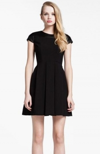 Jade Faux Leather Dress by Cynthia Steffe at Nordstrom