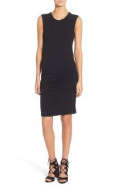 James Perse Ruched Tank Dress at Nordstrom