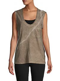 James Perse - Tie-Dye Cotton Tank Top at Saks Off 5th