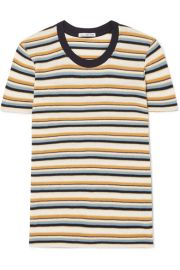 James Perse - Vintage Boy striped cotton-blend jersey T-shirt at Net A Porter