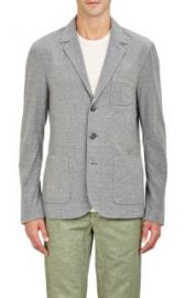 James Perse Knit Three-Button Sportcoat at Barneys